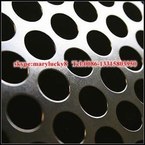 China Mild Steel Perforated metal sheet/iron Perforated sheet/ steel perforated metal plate on sale