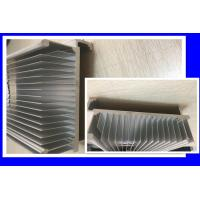 China 6063 T5 Silvery Anodized Heat Sink Aluminum  Extrusion Profiles For 5G Mobile on sale