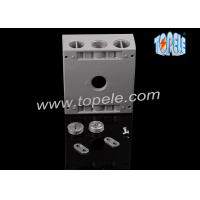 Rectangle Aluminum Electrical Box , Switch Electrical Box Outdoor Manufactures
