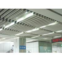 China Fashion Aluminium Baffle Ceiling J shaped Plug-in Blade Ceiling  for Airport, Metro wholesale