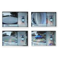 4 Wide Angle360 degree Cameras Seamless Car Reverse Camera System ,High Definition 720*480 and waterprool level IP67