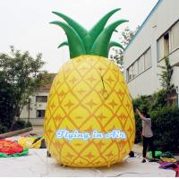 5m Height Inflatable Pineapple with Blower for Indoor and Outdoor Decoration Manufactures