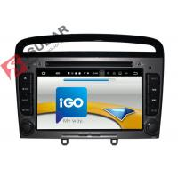 China HMDI Output Double Din Dvd Car Stereo , Peugeot 408 / Peugeot 308 Dvd Player Built - In WIFI on sale