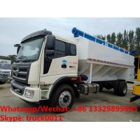 Buy cheap 2018s cheapest price FOTON LHD 160hp LOVOL diesel 20m3-22m3 bulk feed pellet truck for sale, poultyr feed truck from wholesalers