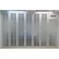 China Standard Double Glazed Bi Fold Doors , Aluminium 3 Panel Bifold Doors wholesale