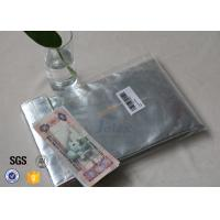China Christmas Gift Glass Fibre Cloth Fire Resistant Pouch For Document / Cash on sale
