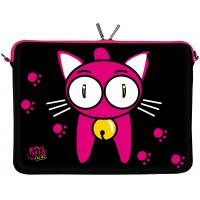 China Kitty to Go Designer Notebook Sleeve Laptop Soft Case Netbook Cover Tablet Bag on sale
