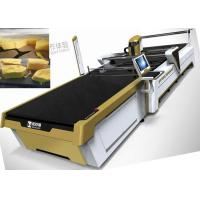 China Fabric Cutting Machines Used In Kids Wear ,Garment Industry , Cloth Shoes , Car Seats ,PU leather,Swimming Wear on sale