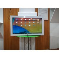 China 32 Inch Transparent Lcd Display Commodity Displaying Cabinet Case One Sided wholesale