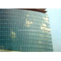 Curve / Flat Laminated Safety Glass Minimum Size 250 Mm-350 Mm Solid Structure Manufactures