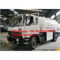 ASME standard dongfeng 5tons lpg gas refilling bowser for sale, mobile 5tons lpg gas dispensing truck for sale Manufactures