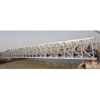 China Custom Permanent Steel Structure Bridge Steel Deck With Good Stability on sale