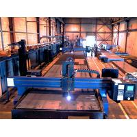 Single Phase Auto Wind Tower Production Line Oxy - fuel Cutting Machine Manufactures