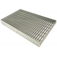 China Durable Stainless Steel Bar Grating For Platform Standard Plain Surfaces on sale