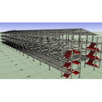 China Prefabricated Light Workshop Steel Structure For 4 Storey Dormitory wholesale