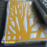 aluminium perforated carved decorative panel for fence, screen, wall, room divider Manufactures