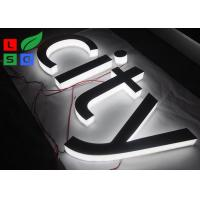 China Mirror Polished LED Channel Letter Signs Epistar LED Chip Customized Design on sale