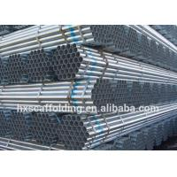 Factory Supply Q235 HDG Galvanized Tube Pipes for Scaffolding System Manufactures