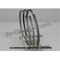 3mm / 2.35mm / 4mm  Engine Piston Rings Set Low Noise OEM 3802421 Manufactures
