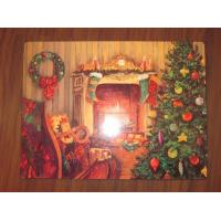 China Table Protected Wooden Placemats And Coasters , Prevent Table From Skidding wholesale