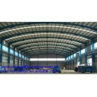 Buy cheap Construction prefabricated steel roof truss design from wholesalers