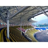 China Steel Pipe Truss Adopted Steel Structure Fabrications Large Span Stadium wholesale