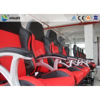 Interactive Motion Theater Chair 4d Cinema Seating With High-Ene Pu