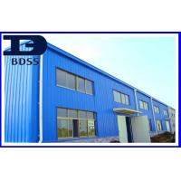 Prefab Large Long Span Steel Galvanzied Structures For Industrial Park Manufactures