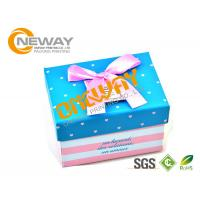 Coated Paper Custom Size Gift Boxes CMYK Printing For Medecine Packaging Manufactures