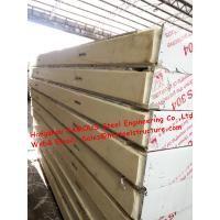 Classic Cold Room Building Material Sandwich PU Refrigeration Panel For Walk In Cold Storage 1150mm Manufactures