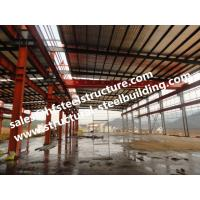 Prefabricated And Pre-engineered Building Steel Industrial Warehouse Building Manufactures