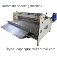China automatic roll to sheet cutting machine for PET, PC, PVC, PCB, FPC on sale