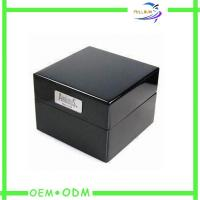 China Embossed Logo Single Travel Watch Gift Boxes Foil Stamping OEM / ODM wholesale