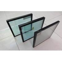 China Commercial Clear Double Pane Insulated Glass Door And Curtain Wall Glass on sale