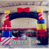China Advertising Inflatable Christmas Arch, Inflatable Christmas Archway for Sale wholesale