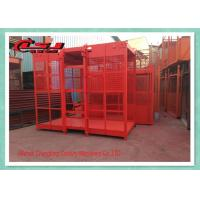 China 2 Motor High Twin Construction Material Lift , Building Site Material Lift Elevator wholesale