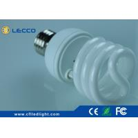 China 23W Small Cool White Cfl Bulbs Tricolor For Home / Commercial Lighting wholesale