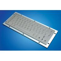 China ZT599A  Kiosk Metal Keyboard with 64 Stainless Keys wholesale