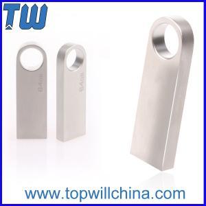 Keyring Slim Mini Metal Usb Flash Drive Delicate Design for Gifts