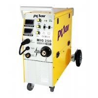 Single Phase Industrial mig mag welding Equipment with Trolley , CE CCC Approval Manufactures