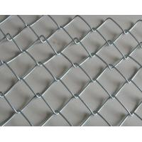 China Home garden used hot dipped galvanized / black vinyl coated chain link fence on sale