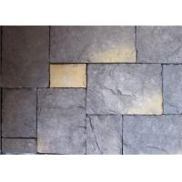 Interior / Exterior Artificial Wall Stone Multiple Color With Solid Surface