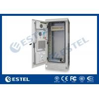 China Professional PDU IP55 Outdoor Telecom Cabinet Grey Color 1800X900X900 mm wholesale