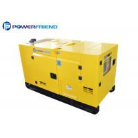 Buy cheap 10kw to 50kw Silent Generator Set diesel engine With Electric starter from wholesalers