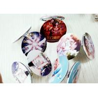 Beauty Photos Digital Printing Services 3D Digital Printing On Pocket Mirrors Manufactures