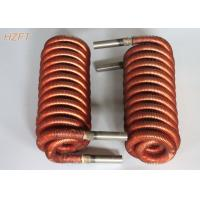 China High thermal Finned Coil Heat Exchangers For Fuel Gas Condensers , Fan Coil Unit on sale