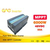 Pv Powered Inverter6000w Solar Power Automatic Inverter Charger Manufactures