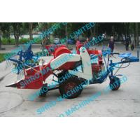 4l-0.5 mini wheat combine harvester with Tyre wheel , 12hp 14hp, sihno machinery limited Manufactures