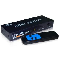 3 way HDMI Switch Box 3x1 port with remote control eKL-31h Manufactures