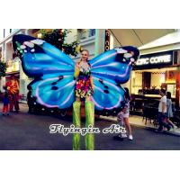 Performance Inflatable Butterfly Wings Costumes for Event and Stage Supplies Manufactures